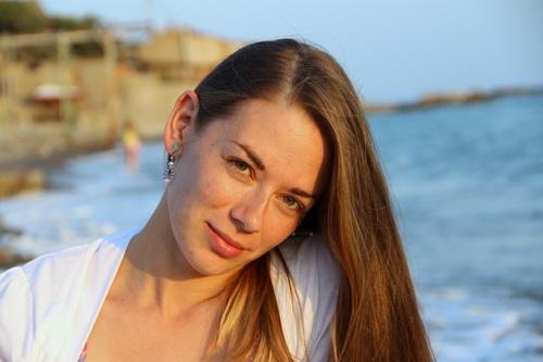 Капли - серьги с жемчугом, аметистом и японским бисером - фото и работа Дарины Никоновой